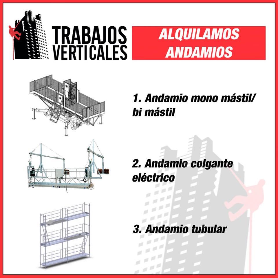 Alquiler de andamios en mallorca trabajos verticales for Trabajos verticales en palma