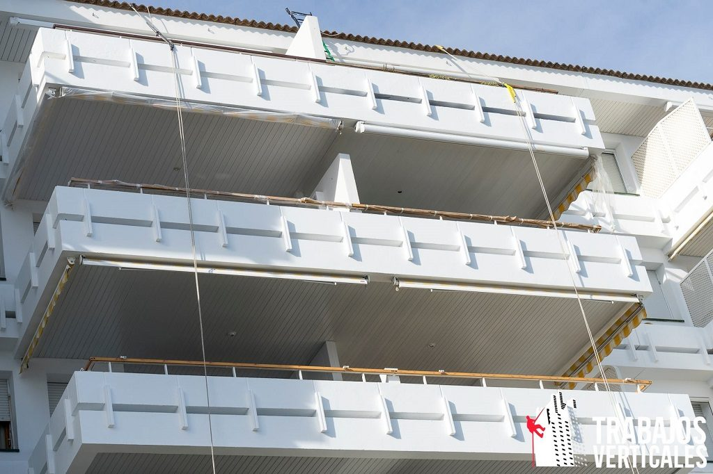 Rehabilitacion de fachadas en Mallorca