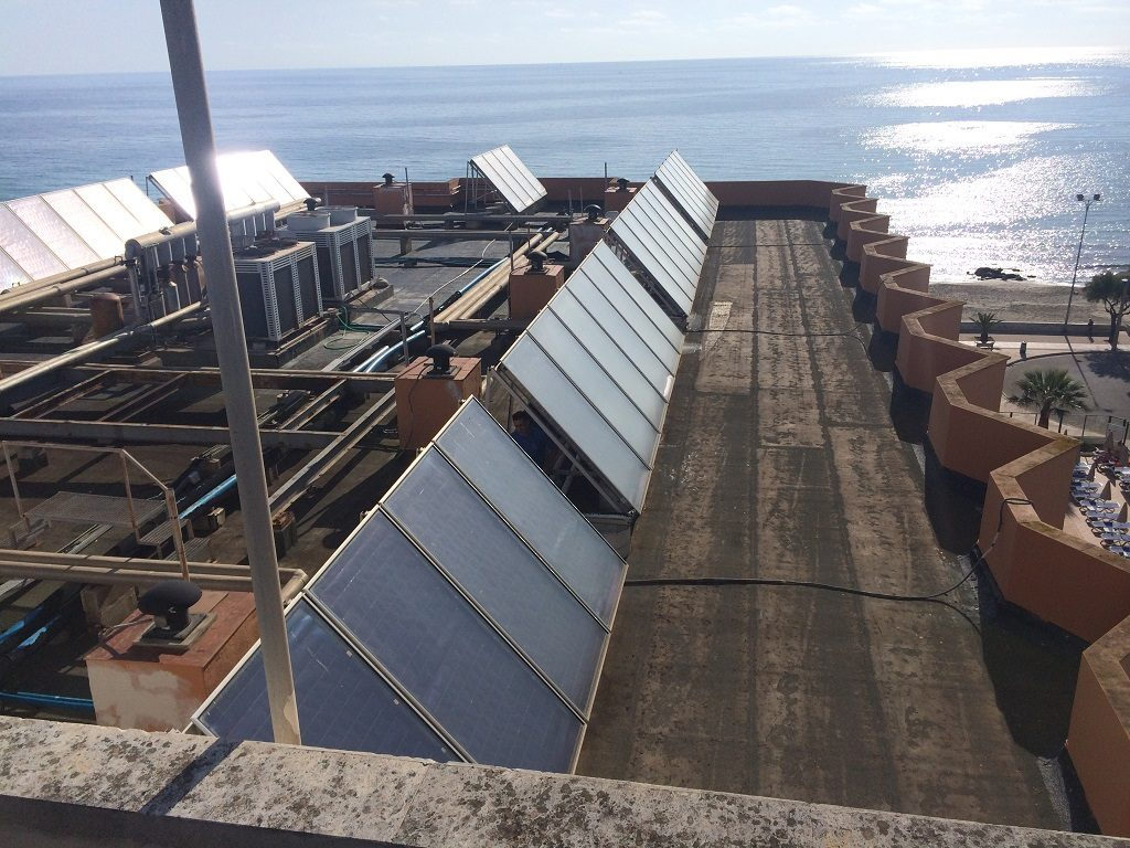 Impermeabilización de cubiertas sin levantado